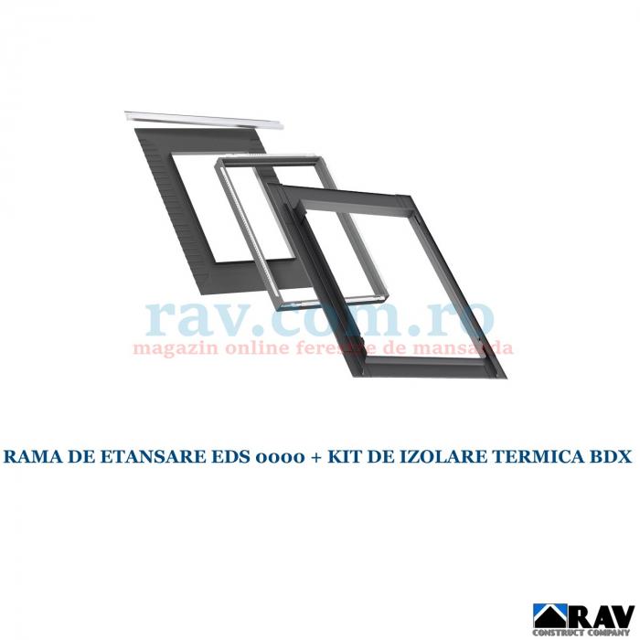 Rama de etansare VELUX pentru invelitori plate - EDS 2000 5