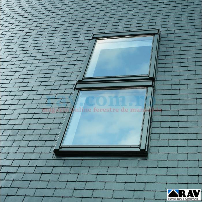 Rama pentru ferestre VELUX suprapuse ( invelitori plate ) 1