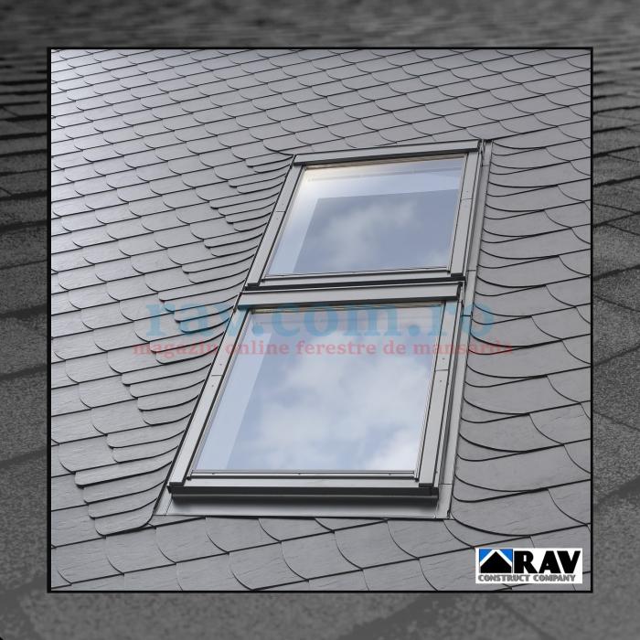 Rama pentru ferestre VELUX suprapuse ( invelitori plate ) 0