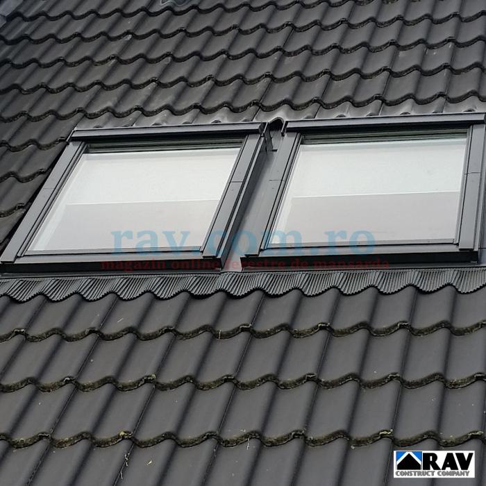 Rama pentru doua ferestre VELUX alaturate (tigla, tigla metalica) 2