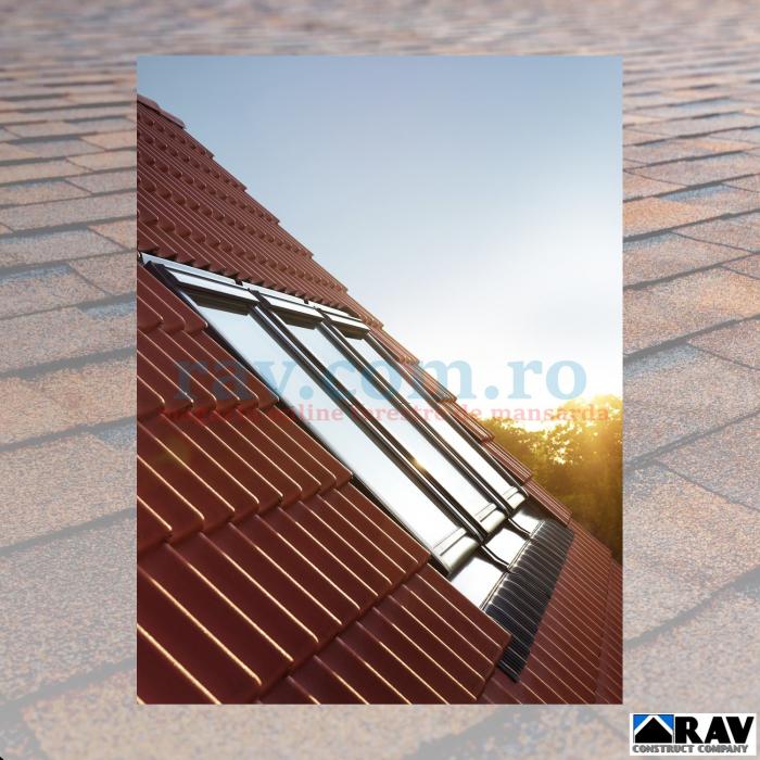 Rama de etansare pentru trei ferestre VELUX alaturate 0