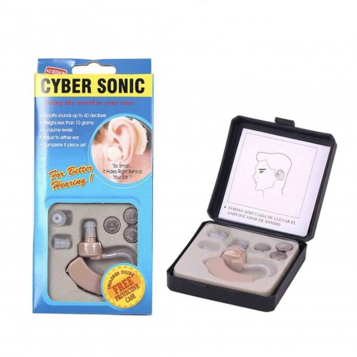 Amplificator auditiv cyber sonic cu baterii [0]