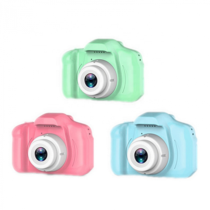 Aparat foto copii Full HD, Digital camera Record LCD , 2.0 inch ,AVI,  jpg, Micro SD, View 140, memorie interna 128M, rezistent la apa [2]