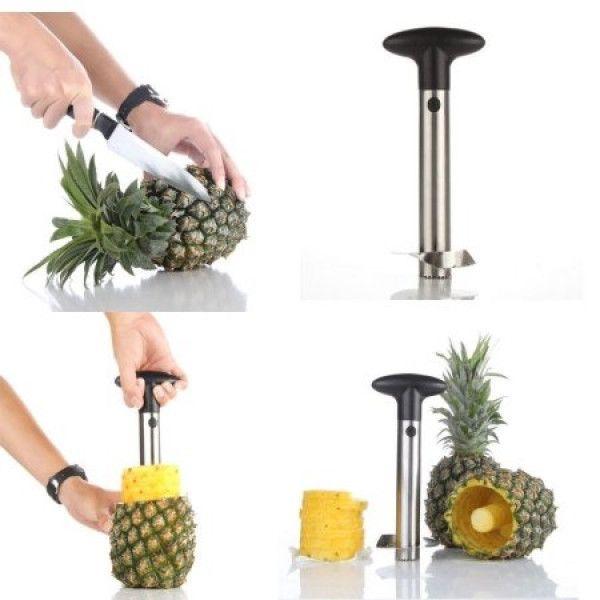 Aparat pentru curatat si feliat ananas [2]
