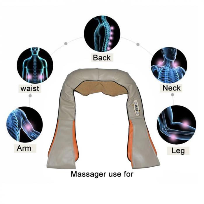 Aparat pentru masaj umeri si gat Massager of Neck Kneading, cu infrarosu [5]