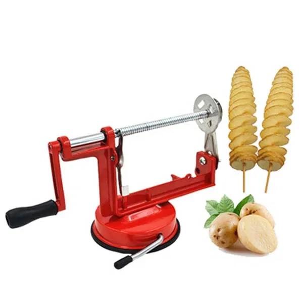 Aparat pentru taiat cartofi in forma de spirala, Spiral Potato Slicer [3]