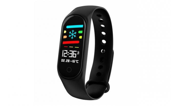 Bratara Fitness M3, monitorizare activitati sanatate, somn, puls, oxigen, ritm cardiac [2]