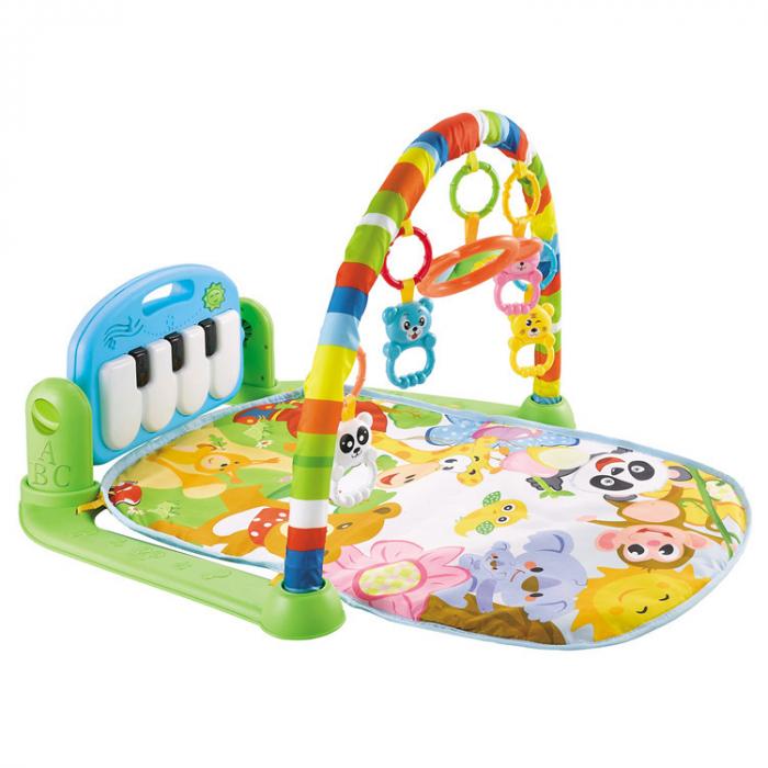 Centru de activitati pentru bebelusi, multifunctional, saltea de activitati, saltea de joaca [0]