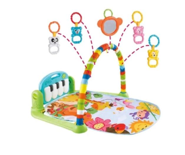 Centru de activitati pentru bebelusi, multifunctional, saltea de activitati, saltea de joaca [3]