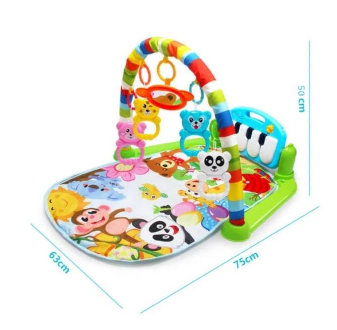 Centru de activitati pentru bebelusi, multifunctional, saltea de activitati, saltea de joaca [5]