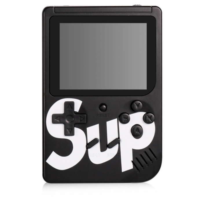 Consola SUP Game Box, 400 jocuri, rotita volum, ecran LCD, cablu AV pentru conectare televizor, incarcare Micro-USB, jocurile copilariei [9]
