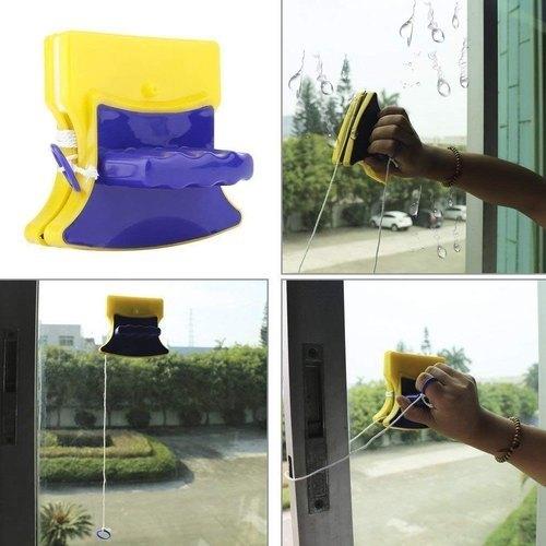 Dispozitiv magnetic de curatat geamuri [3]