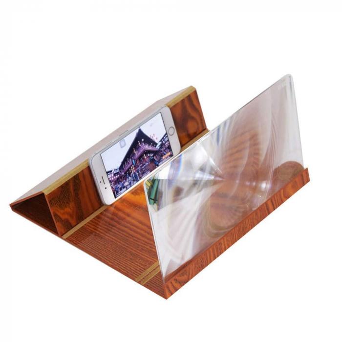 Ecran cu Lupa, amplificator de imagine 3D pentru telefoane mobile [1]