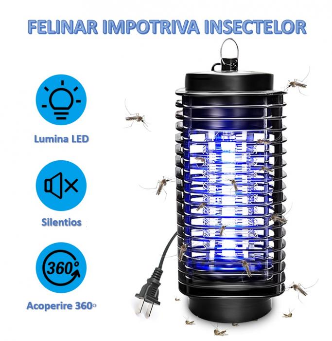 Felinar electric UV impotriva insectelor, Mosquito Killer [1]
