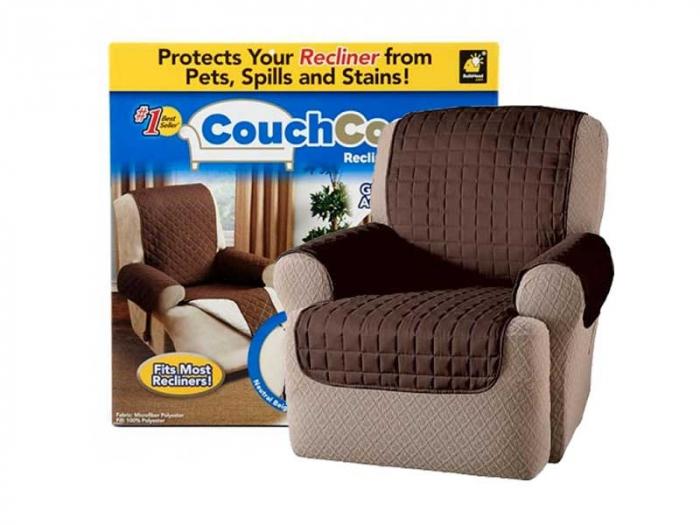 Husa fotoliu impotriva petelor si parului de animale, Protects your recliner [3]
