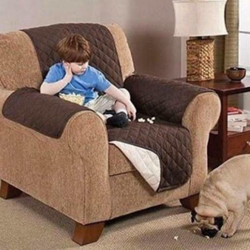 Husa fotoliu impotriva petelor si parului de animale, Protects your recliner [4]