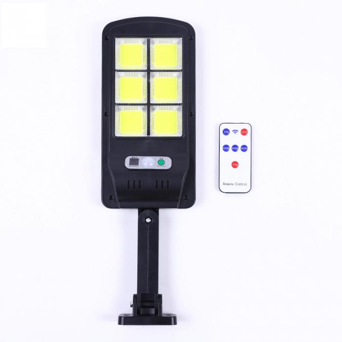 Lampa solara 6 celule, 120 LED-uri COB, cu telecomanda, 30 W [1]
