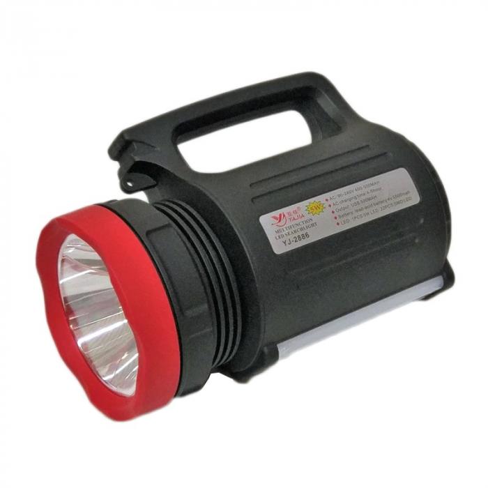 Lanterna profesionala, raza 500M, model YJ-2886, cu acumulator [0]