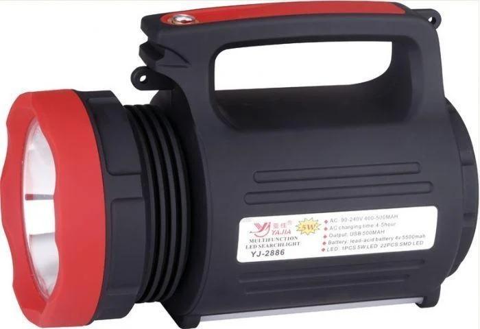 Lanterna profesionala, raza 500M, model YJ-2886, cu acumulator [3]