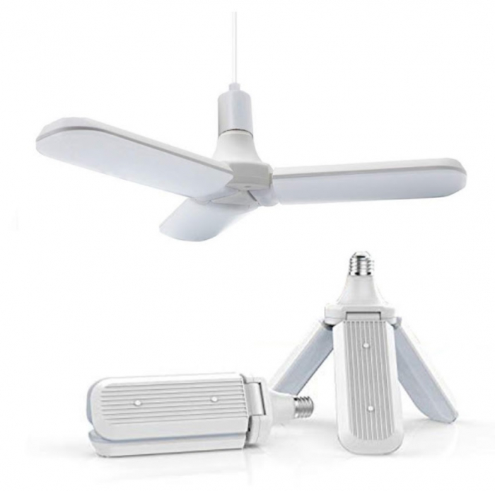 Led cu 3 brate pliabile Fan blade led bulb [0]