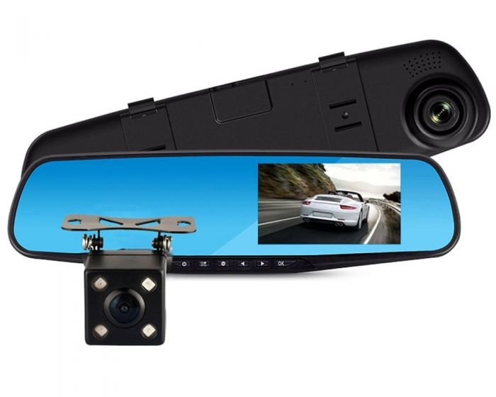 Oglinda auto DVR retrovizoare, camera fata-spate Full HD 1080 [3]