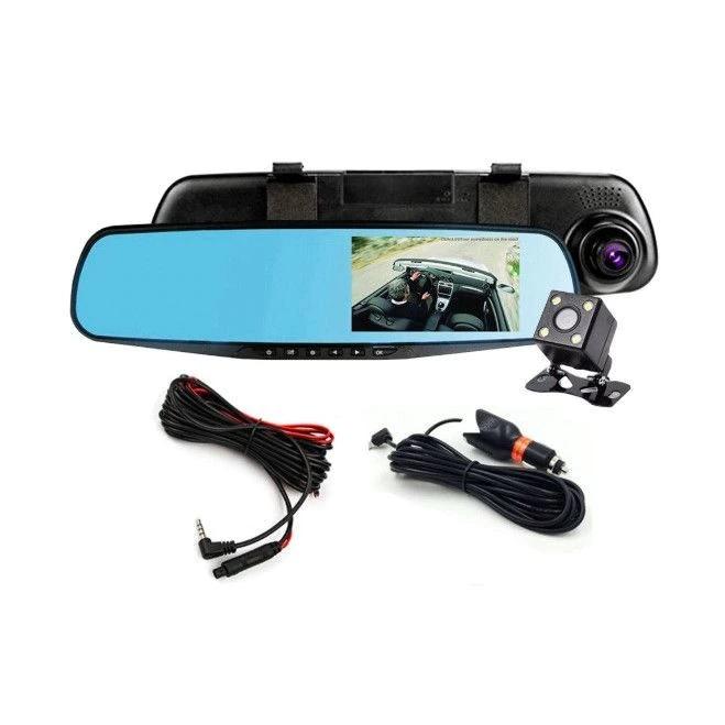 Oglinda auto DVR retrovizoare, camera fata-spate Full HD 1080 [2]