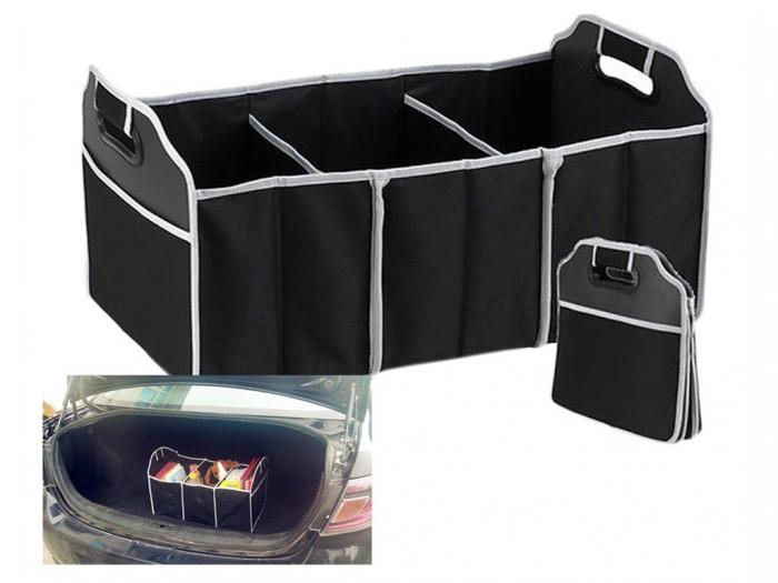 Organizator portbagaj auto, 3 compartimente [1]