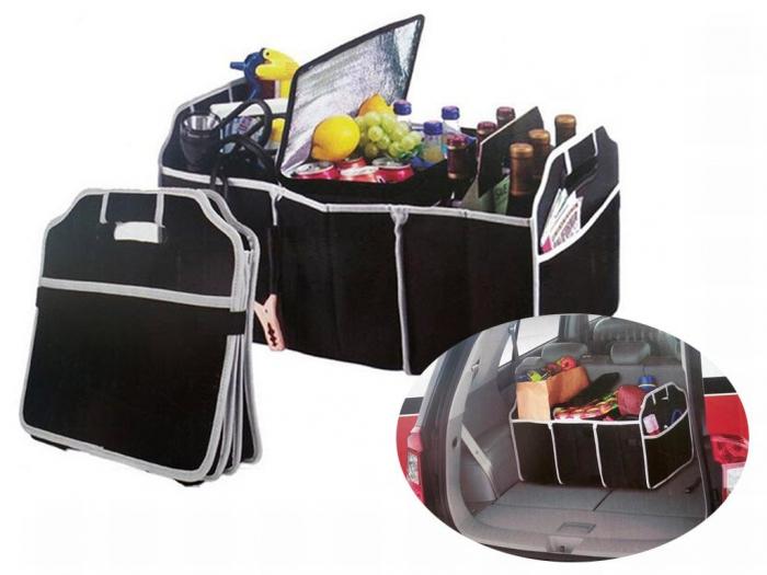 Organizator portbagaj auto, 3 compartimente [0]