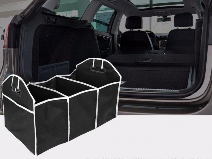 Organizator portbagaj auto, 3 compartimente [5]