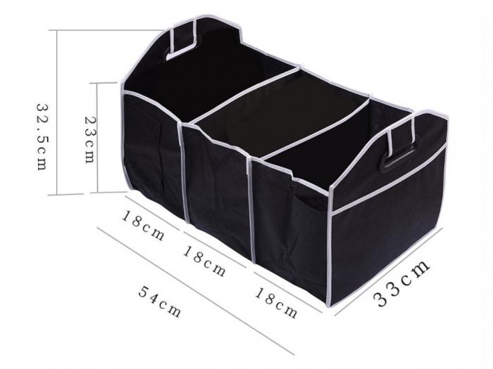 Organizator portbagaj auto, 3 compartimente [4]