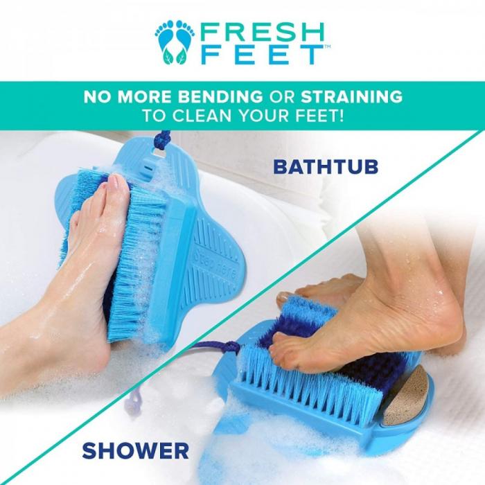 Perie cu piatra pentru picioare Fresh Feet [2]