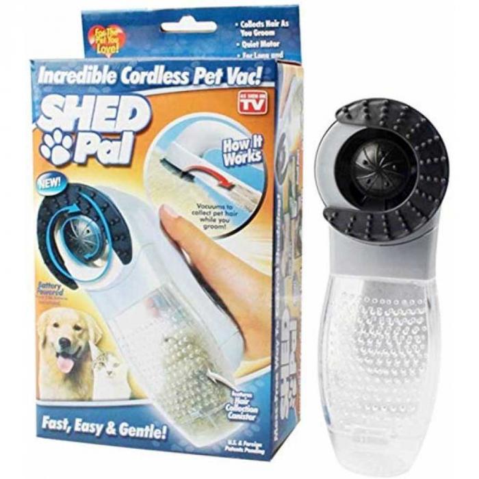 Peria cu vacuum pentru parul de animale, Shed Pal [0]