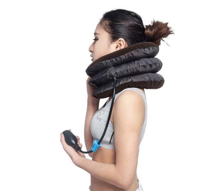 Perna cu aer pentru sustinere cervicala, potrivita si pentru calatorii [3]
