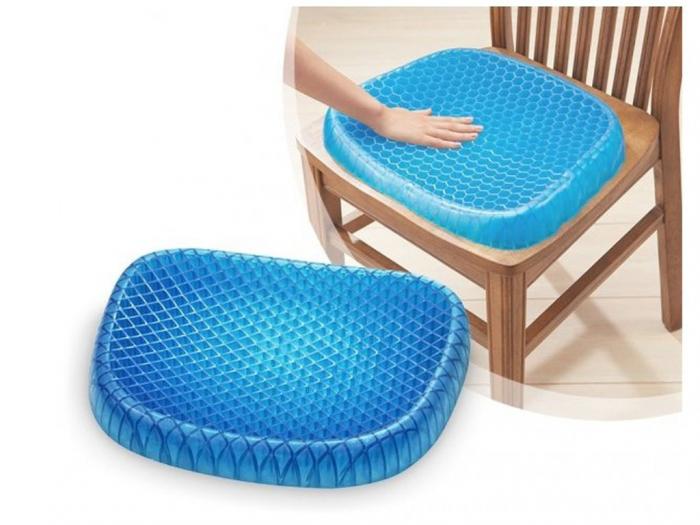 Perna din gel cu memorie, pentru scaun normal sau scaun de birou, HUSA INCLUSA [0]