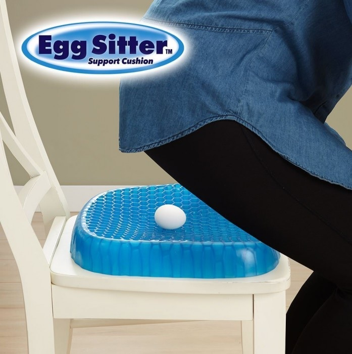 Perna din gel cu memorie, pentru scaun normal sau scaun de birou, HUSA INCLUSA [2]