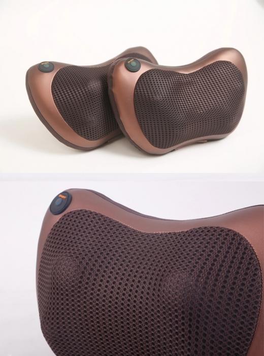 Perna electrica pentru masaj cervical, cu incalzire Massage Pillow [7]