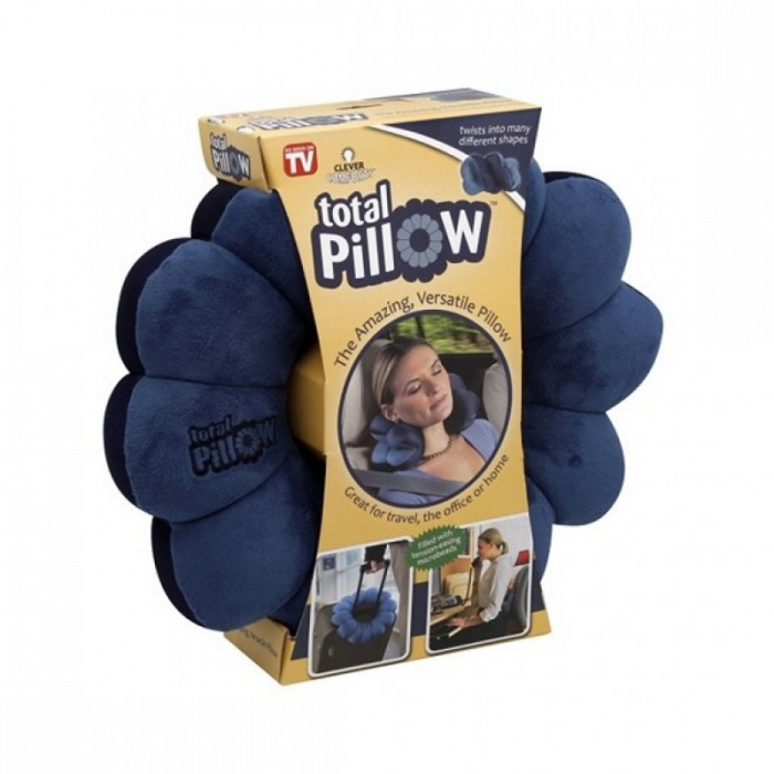 Perna multifunctionala, relaxare si calatorie, Total Pillow [2]