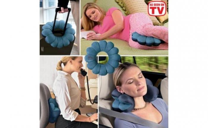 Perna multifunctionala, relaxare si calatorie, Total Pillow [3]