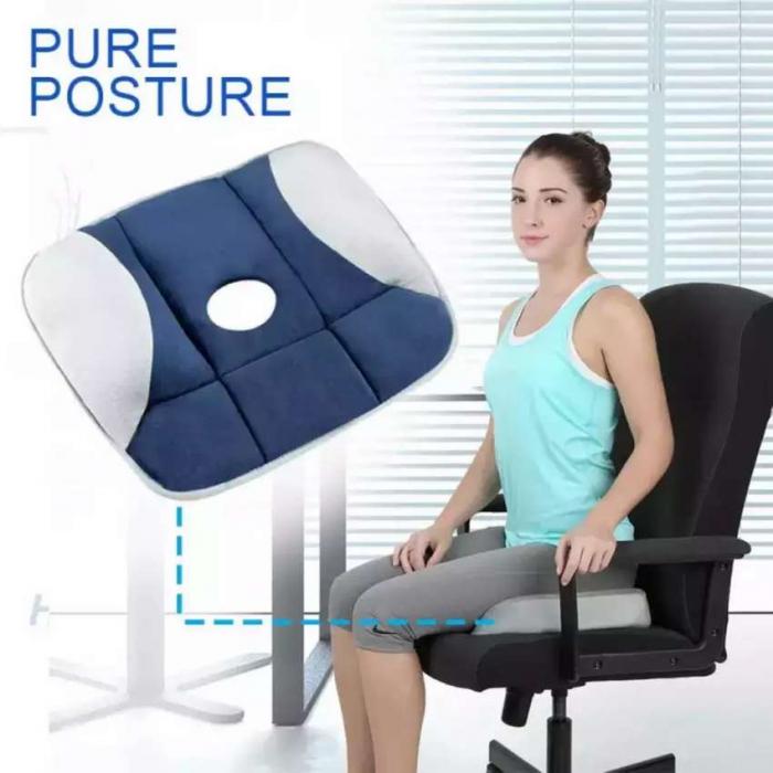 Perna pentru sezut cu gel, pentru corectarea posturii, Pure posture [1]