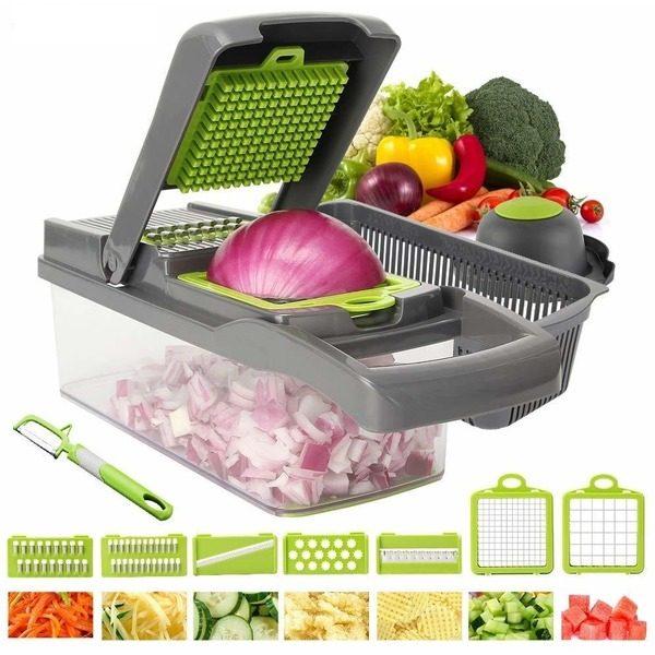 Razatoare multifunctionala legume si fructe 14 piese Veggie Slicer [0]