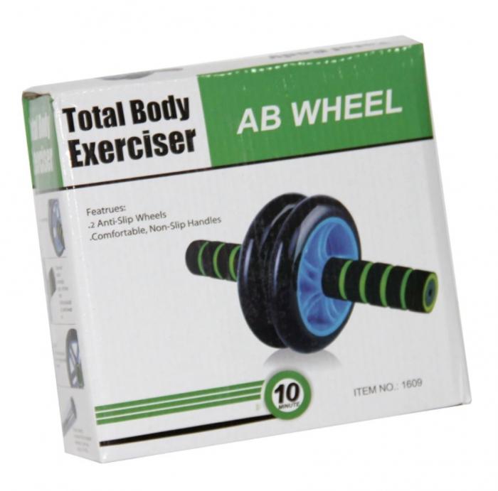 Roata dubla tonifiere abdomen Ab-wheel Rollout [5]