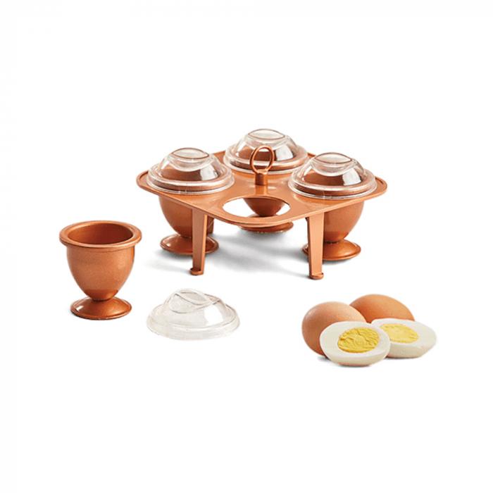 Set 4 forme pentru fiert oua fara coaja,Chopper egg XL [0]