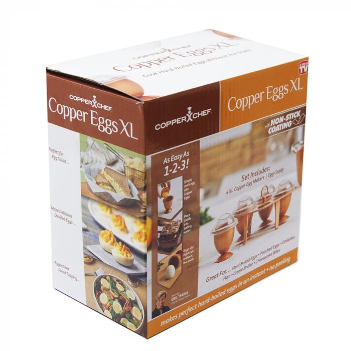 Set 4 forme pentru fiert oua fara coaja,Chopper egg XL [7]