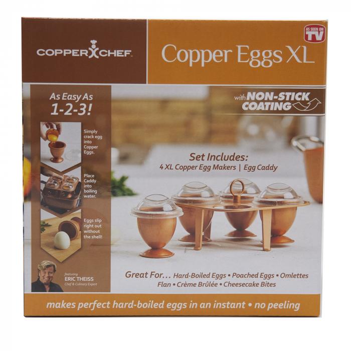 Set 4 forme pentru fiert oua fara coaja,Chopper egg XL [8]