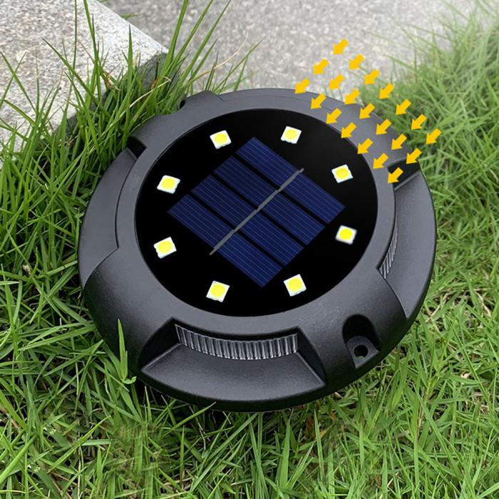 Set 4 lampi solare exterior incorporabile sau aplicabile, terasa sau gradina [4]