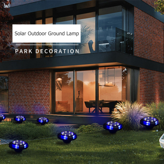 Set 4 lampi solare exterior incorporabile sau aplicabile, terasa sau gradina [7]