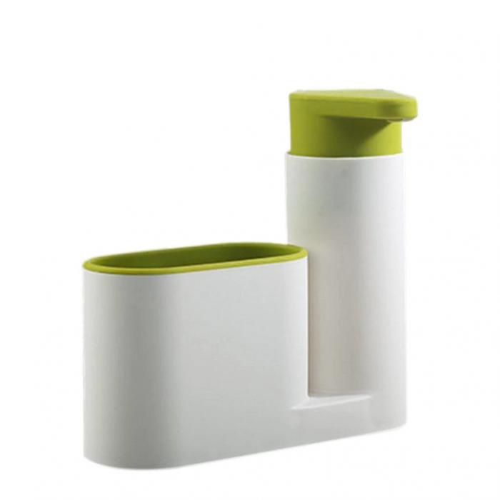 Set dozator detergent, baie sau bucatarie, Sink tidy sey Plus [0]