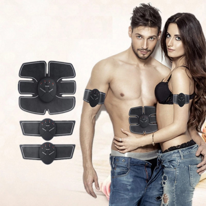 Stimulator Muscular Electric, EMS, Slabit si pus masa musculara, Brate si abdomen [2]