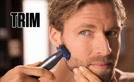 Aparat de ras trimmer MicroTouch SOLO, 3 capete, lame otel inoxidabil, USB [5]