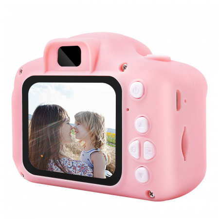 Aparat foto copii Full HD, Digital camera Record LCD , 2.0 inch ,AVI,  jpg, Micro SD, View 140, memorie interna 128M, rezistent la apa [3]